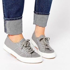 Superga 2750 Grey Sage Sneakers